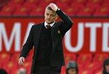 """Atsakomybę prisiėmęs O.G.Solskjaeras: """"Tai yra blogiausia diena mano gyvenime būnant """"Man Utd"""" treneriu"""""""