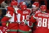 Baltarusija pasiruošusi priimti ledo ritulio fiestą
