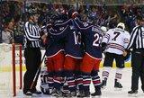 Vienintelė be pergalių buvusi NHL komanda nutraukė nesėkmių seriją