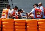 Neįtikėtina: žastikaulį susilaužęs M.Marquezas žada lenktyniauti šį savaitgalį