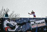 Pasaulio biatlono taurės persekiojimo lenktynės V.Stroliai susiklostė nesėkmingai