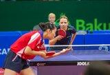 R.Paškauskienė puikiai pradėjo Europos stalo teniso čempionatą (papildyta)