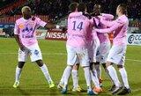 """""""Lille"""" nenugalėjo lygos autsaiderio, """"Lyon"""" šventė nesunkią pergalę"""