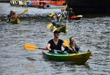 Olimpinės dienos šurmulys – ir Danės upėje