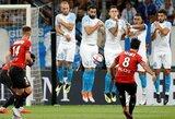 """""""Marseille"""" ir """"Rennes"""" akistatoje – grubios vartininkų klaidos ir dramatiškos lygiosios"""