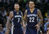 """""""Grizzlies"""" žaidėjai tikisi sutrukdyti """"Warriors"""" pagerinti legendinį rekordą"""
