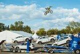 Latvijoje atliktas unikalus pasaulyje laisvojo stiliaus motokroso triukas