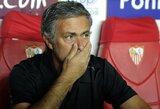 """J.Mourinho: """"Šiuo metu žaidžiame ne kaip komanda"""" (+3 kiti komentarai)"""