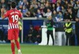 """""""Atletico"""" išvykoje sutriuškino """"Alaves"""" futbolininkus"""
