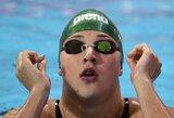 R.Meilutytė Edinburge vykstančiose varžybose su geriausiu rezultatu pasiekė antrą finalą
