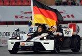 """Vokietijos komanda šeštą kartą iš eilės triumfavo """"čempionų lenktynėse"""""""