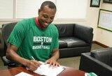 """""""Celtics"""" iškels P.Pierce'o marškinėlius į arenos palubes"""