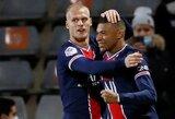 Prancūzijoje – K.Mbappe dublis ir triuškinama PSG pergalė