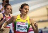 Titulą ginanti A.Palšytė ir rekordą pagerinusi A.Šerkšnienė pateko į Europos čempionato finalus!