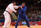 Europos dziudo čempionate nesisekė ir patyrusiems Lietuvos kovotojams