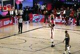 """J.Butleris pasibaigus rungtynių laikui išplėšė antrąją """"Heat"""" pergalę"""
