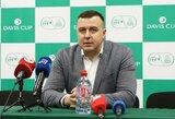 Lietuvoje iki liepos vidurio nevyks jokie teniso profesionalų turnyrai