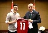 M.Ozilas pakvietė į savo vestuves prastai pagarsėjusį Turkijos prezidentą
