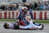 Baltijos kartingo čempionato pirmajame etape S.Juodviršis pirmas