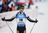 Pasaulio biatlono taurės etapas Suomijoje baigėsi bendro starto lenktynėmis