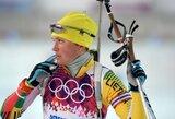 Lietuvos biatlonininkių pasaulio taurės etapo Slovėnijoje persekiojimo lenktynėse neišvysime