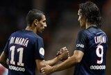 """PSG pergalingą žygį pratęsė sutriuškindami """"Monaco"""""""