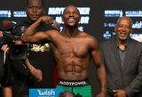 """UFC čempionas: """"Per 6-8 mėnesius galiu paversti F.Mayweatherį pilnaverčiu MMA kovotoju"""""""