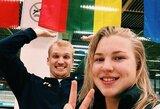 Pirmaisiais startais šį sezoną patenkinta ir R.Meilutytė, ir treneris
