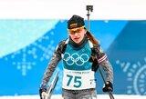 D.Rasimovičiūtė ir labai prastai šaudžiusi N.Kočergina į olimpines persekiojimo lenktynes nepateko