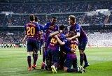 """Ispanijos žiniasklaida: """"Barcelona"""" priešinasi idėjai Čempionų lygą perkelti į savaitgalius"""