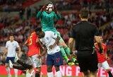 """L.Enrique apie rungtynių pabaigoje neįskaitytą anglų įvartį: """"D.De Gea man pasakė, jog prieš jį prasižengė"""""""