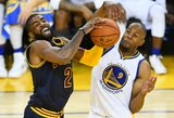 """NBA lažybos: kai """"Warriors"""" atsarginiai kelia didesnį pavojų nei Curry ir Thompsonas"""