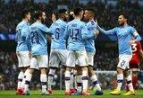 """Anglijos FA taurė: """"Man City"""" sutriuškino """"Fulham"""""""