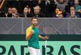L.Grigelis po 17 mėnesių pertraukos pergalingai grįžo į ITF serijos turnyrą