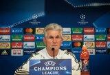 """Ze Roberto apie J.Heynckeso ateitį: """"Po šio sezono  jis tikrai paliks """"Bayern"""""""