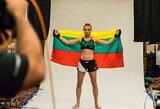 R.Namajunas prieš kovą dėl UFC čempionės diržo prabilo ir apie lietuvius