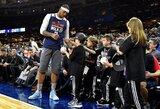 """C.Anthony: """"Visų žvaigždžių"""" savaitgalis padėjo pabėgti nuo """"Knicks"""" dramų"""""""