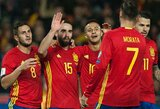 Ispanija paskelbė naujausią rinktinės sudėtį