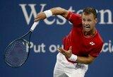 """Savo persvaros niekaip neįtvirtinęs R.Berankis baigė geriausią karjeros pasirodymą """"US Open"""" turnyre"""