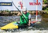 Lietuvos jaunių baidarių slalomo rinktinė pasaulio čempionate aplenkė prancūzus, australus ir šveicarus