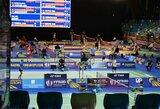 Europos jaunučių badmintono čempionate lietuviams nepavyko patekti į pusfinalį