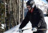 Rusijos prezidentas V.Putinas išbandė Sočio olimpinių žaidynių biatlono ir slidinėjimo trasas