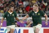 H.Pollardo baudos smūgis paskutinėmis minutėmis atvedė Pietų Afrikos Respublikos regbininkus į pasaulio čempionato finalą