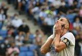 """Netikėta: """"Real"""" vietiniame čempionate krito prieš """"Espanyol"""" futbolininkus"""