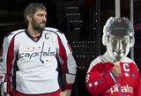 """A.Ovečkinas buvo pagerbtas už neeilinį pasiekimą, o """"Capitals"""" sutriuškino """"Kings"""""""