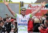 """Pirmąjį """"Tour de Picardie"""" dviračių lenktynių etapą laimėjo J.Degenkolbas, E.Juodvalkis finišavo 36-as, E.Šiškevičius - 120-as"""