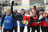 Pjongčango olimpinėse žaidynėse – parodomasis sniego tinklinio legendų mačas
