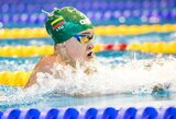 Plaukikė K.Teterevkova neapgynė Europos jaunimo čempionės titulo