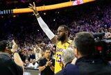 """Nukeltos artimiausios """"Lakers"""" komandos rungtynės"""