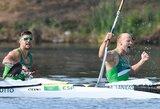"""""""Sportas.lt"""" rinkimai: metų momentas – bronzinis A.Lanko ir E.Ramanausko plaukimas"""
